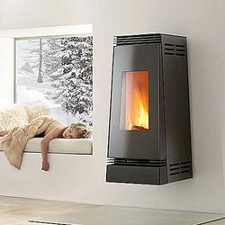 poele a pellet linea 9. Black Bedroom Furniture Sets. Home Design Ideas